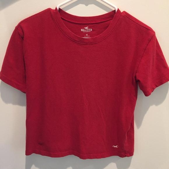 Hollister Tops - Hollister Red T-Shirt